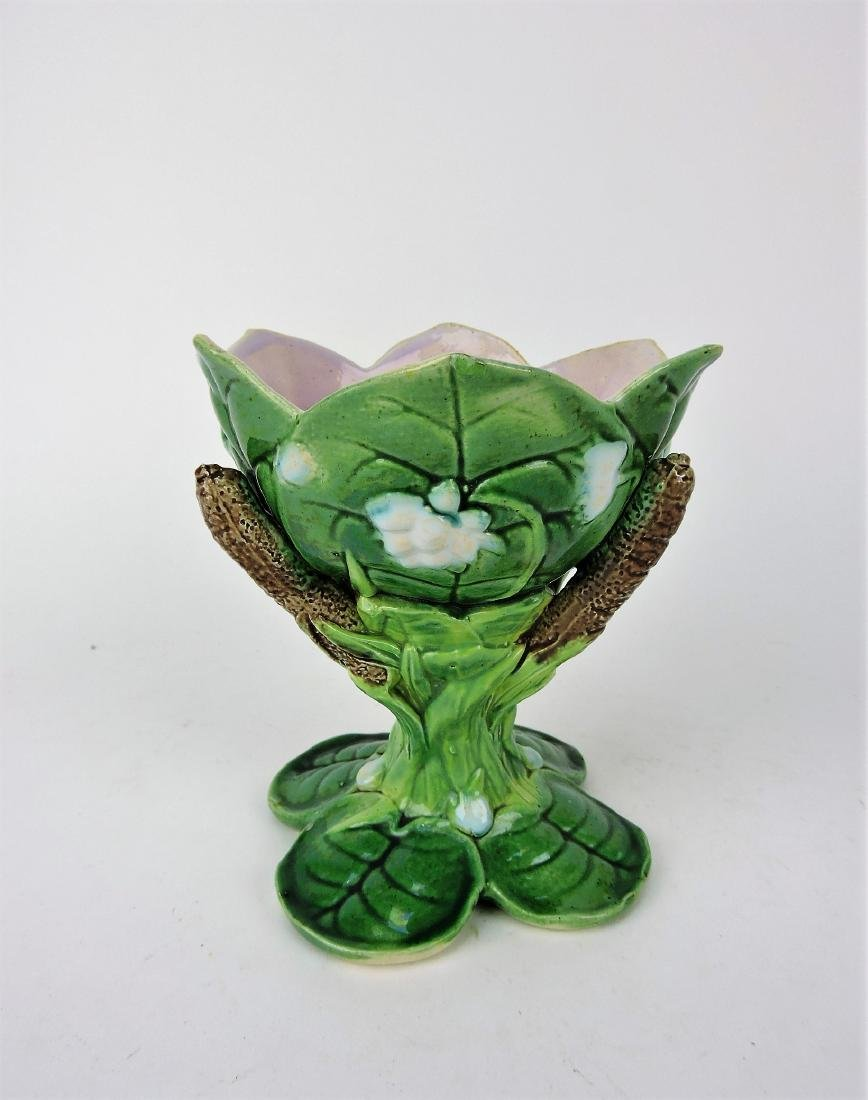 George Jones Majolica pond lily