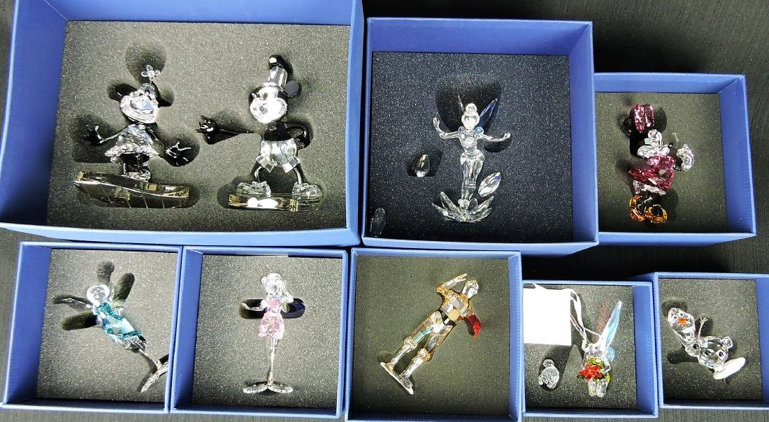 Swarovski lot of 8 figures that need
