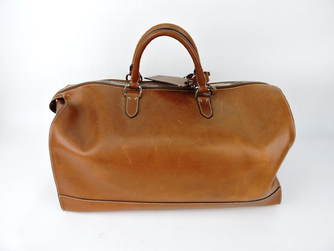 Ralph Lauren leather duffle bag
