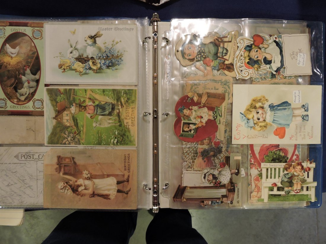 Post card album; Santa's, Christmas, - 9
