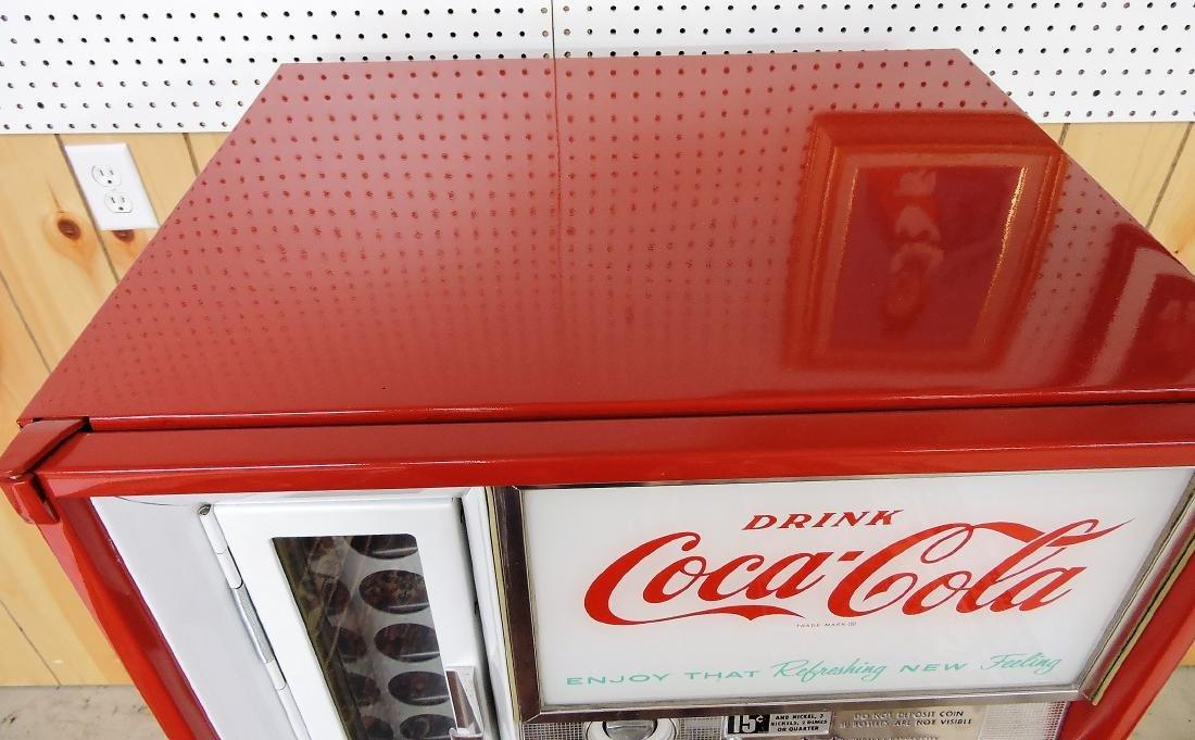 Vendo Coca Cola 15 cent pop bottle - 2