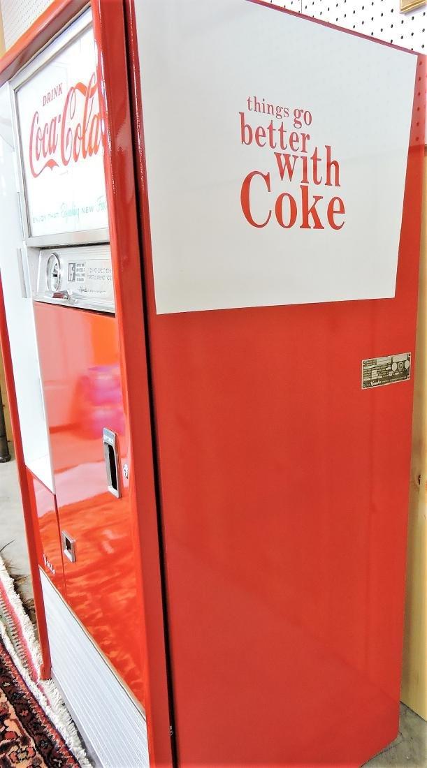 Vendo Coca Cola 15 cent pop bottle - 4