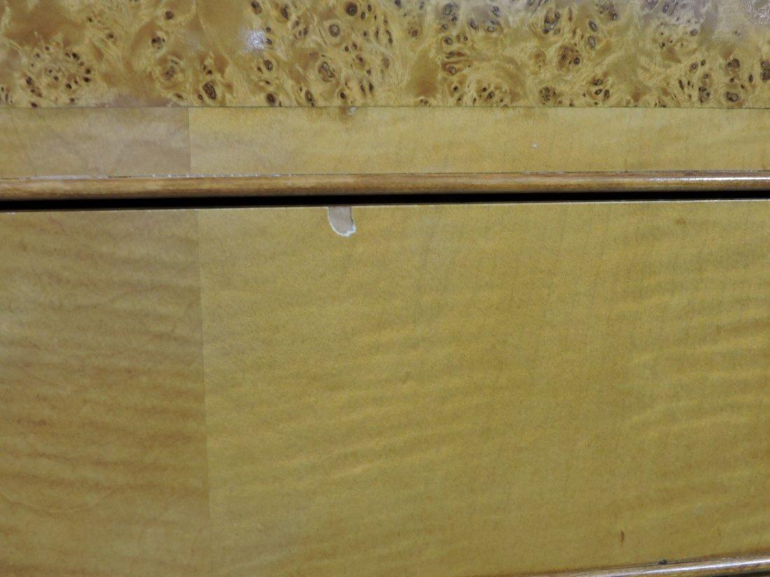 Rare Biedermeier drop front desk with - 7
