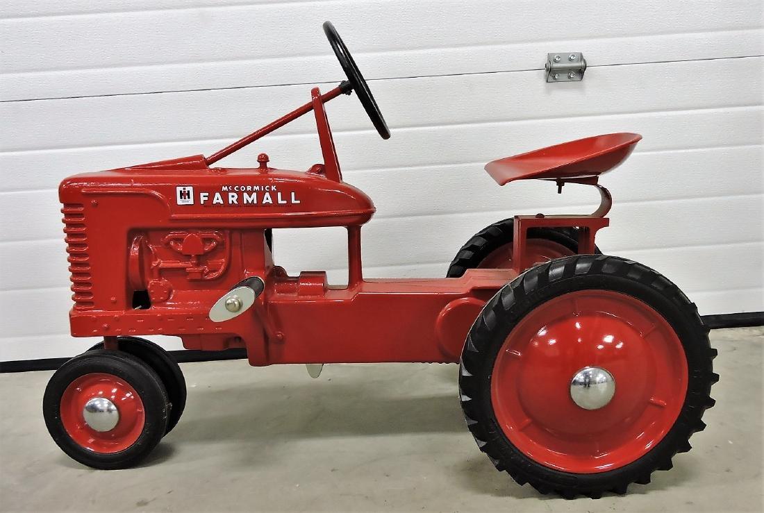 IH McCormick Farmall pedal tractor, 1952