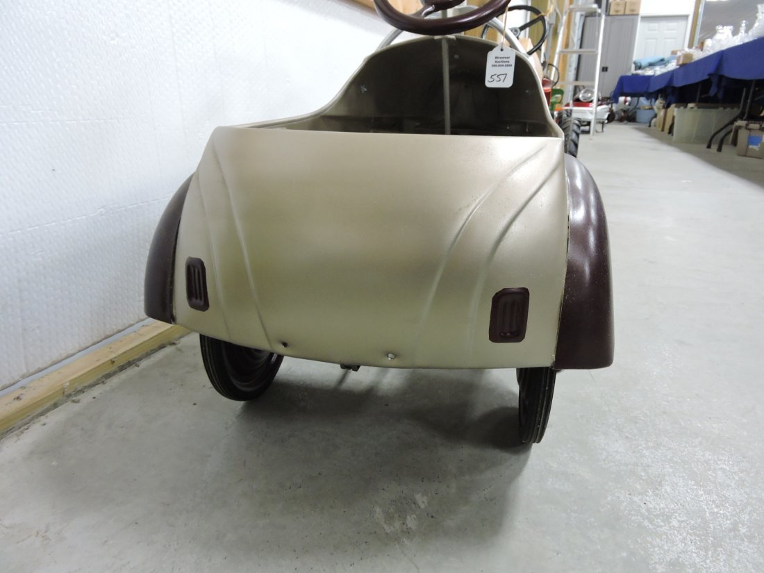 1941 Chrysler  Steelcraft pedal car, - 8