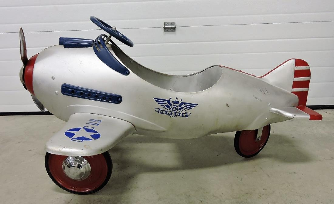 1941 Steelcraft Army Pursuit pedal airplane - 2