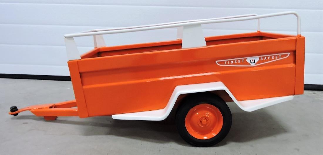 1950's U-Haul pedal car trailer, restored