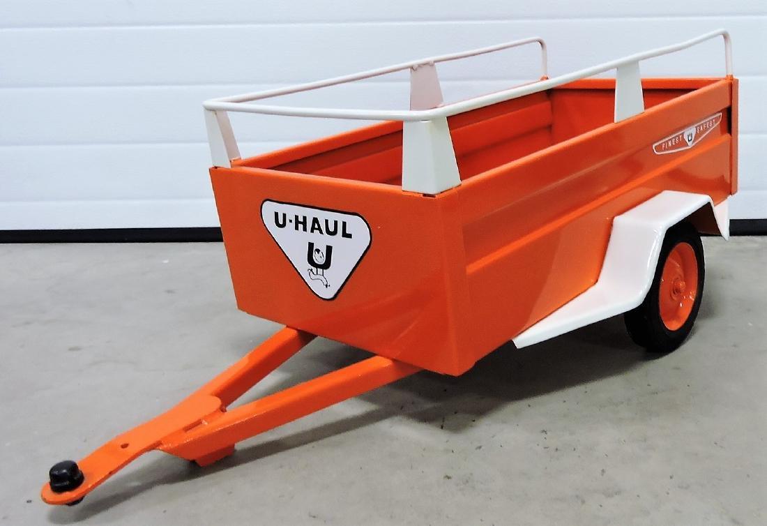 1950's U-Haul pedal car trailer, restored - 2