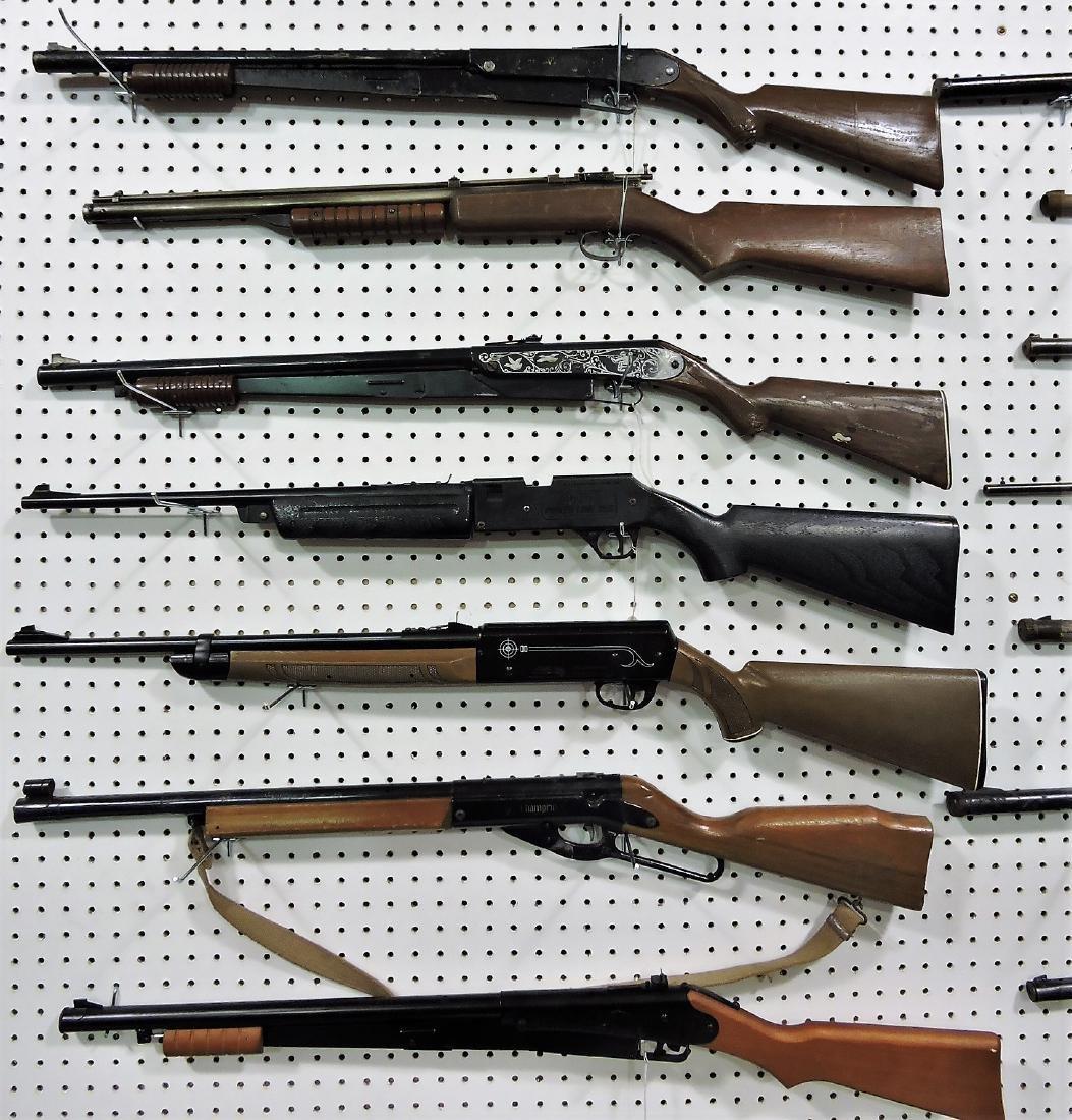Lot of 7 BB guns; 3 - Daisy 25, Daisy