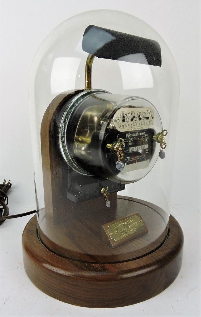 1920's electric meterr desk lamp