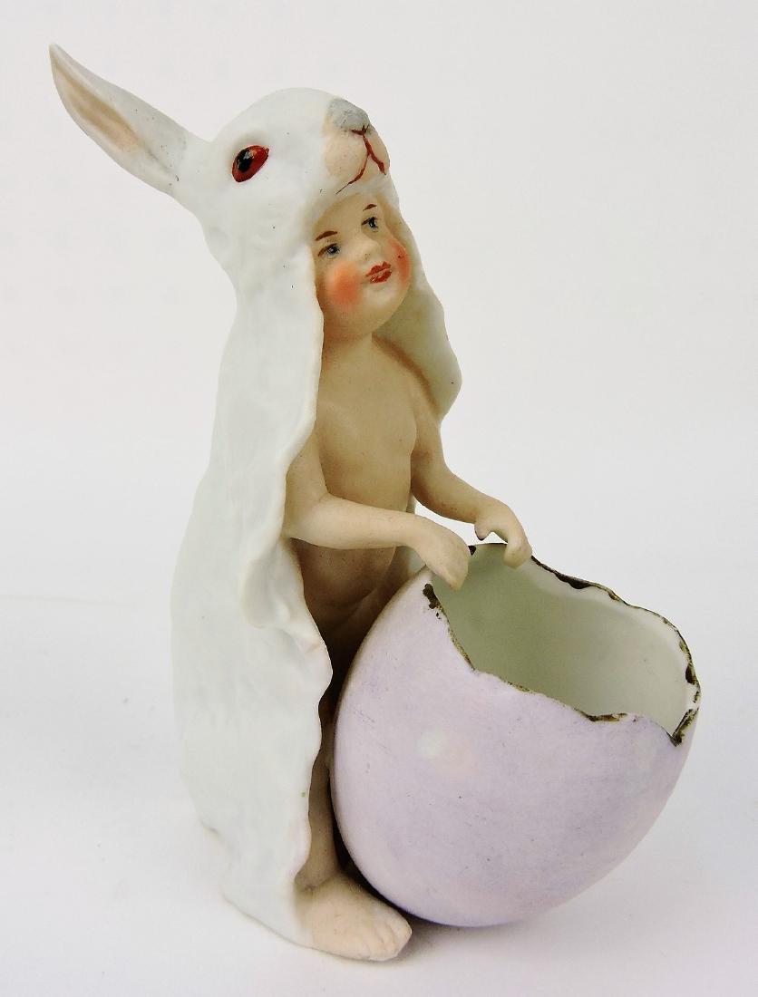 Heubach porcelain figure of baby