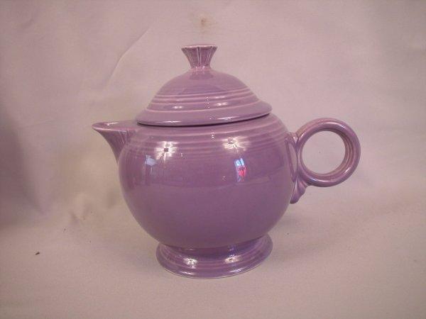 24: Fiesta Post 86 lilac teapot