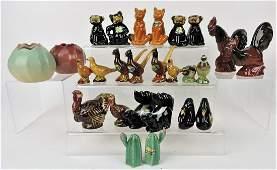 Rosemeade Pottery lot of 15