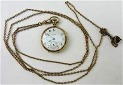 Elgin lady's pocketwatch with