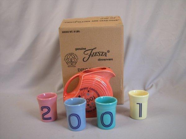 2: Post 86 Fiesta 2001 60th Anniversary beverage set, B