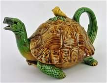 Minton majolica rare tortoise