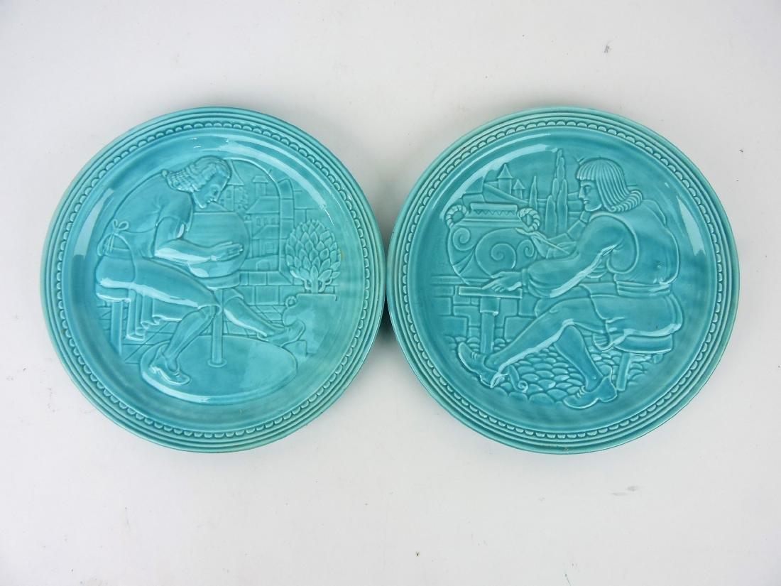 Fiesta World's Fair pair of potter