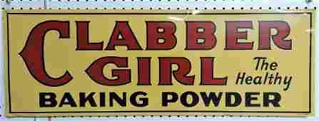 Clabber Girl Baking Powder metal