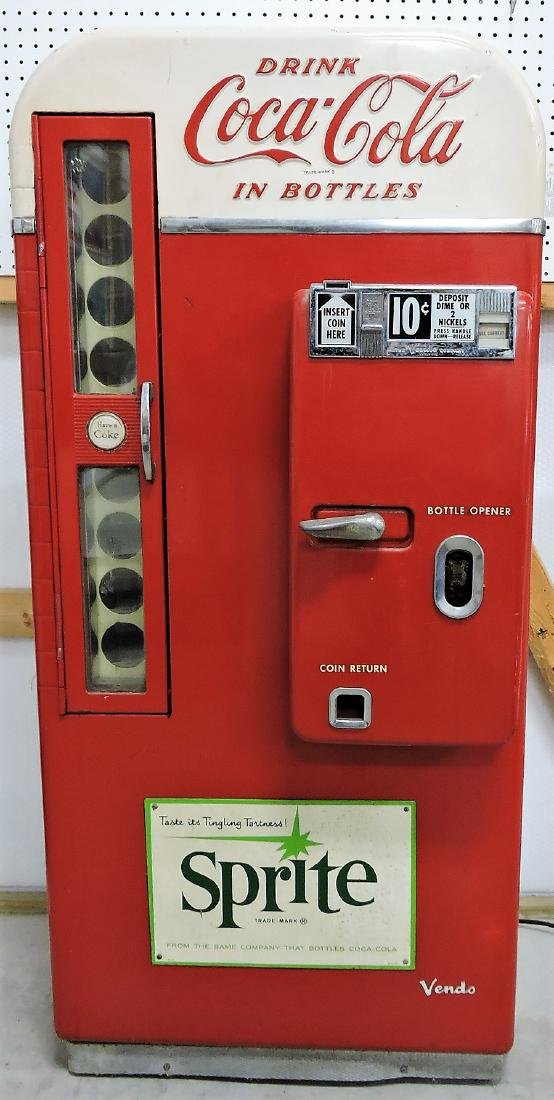 Coca Cola bottle vending machine