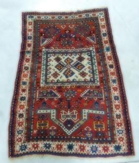 """Oriental rug 37"""" x 53"""", 7"""" repair"""