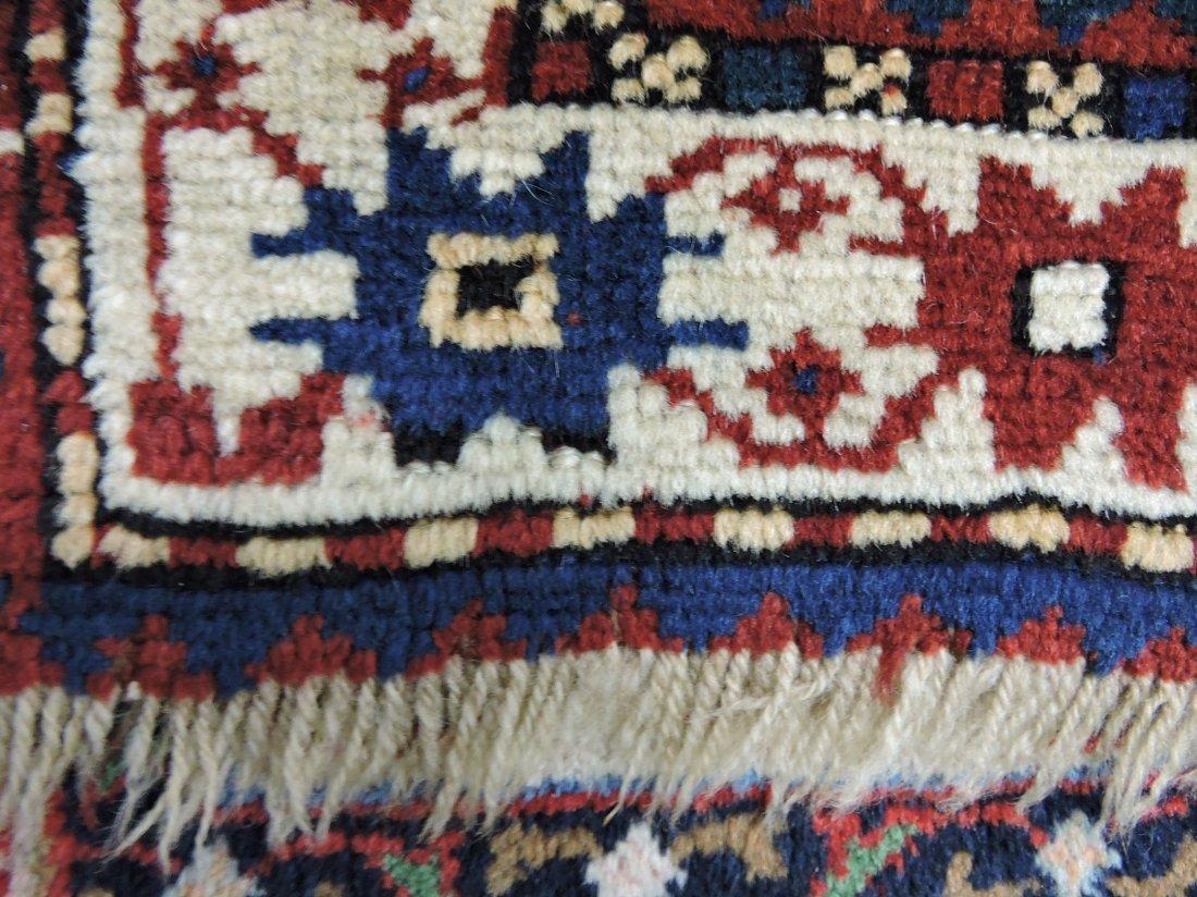 """Oriental rug 37"""" x 53"""", 7"""" repair - 2"""