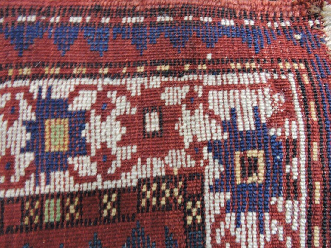"""Oriental rug 37"""" x 53"""", 7"""" repair - 3"""