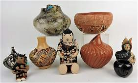 Southwest Indian pottery lot of