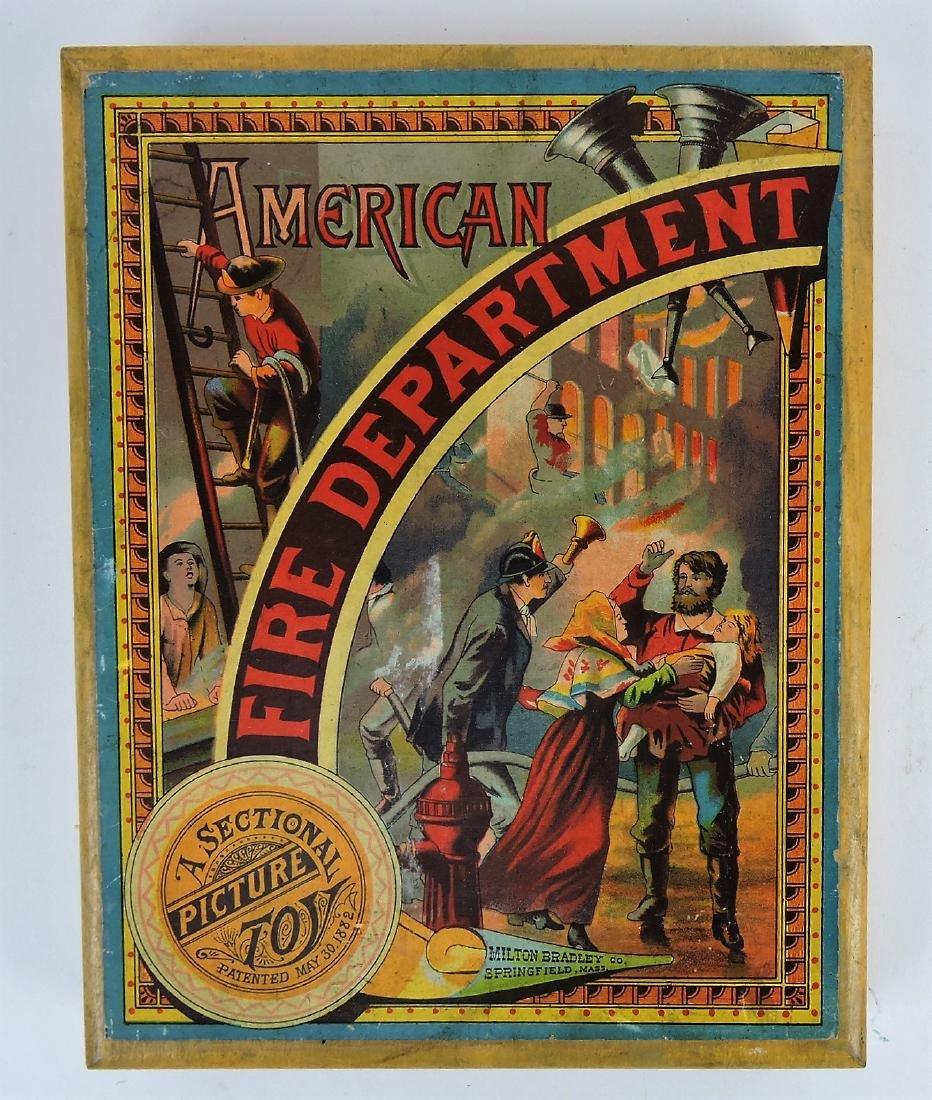 "Milton Bradley ""American Fire"