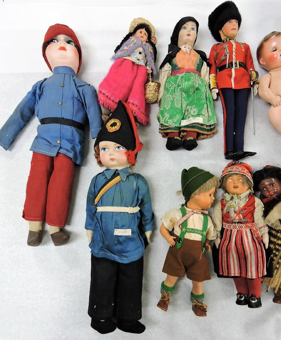 1930's Dolls of the World lot of - 2