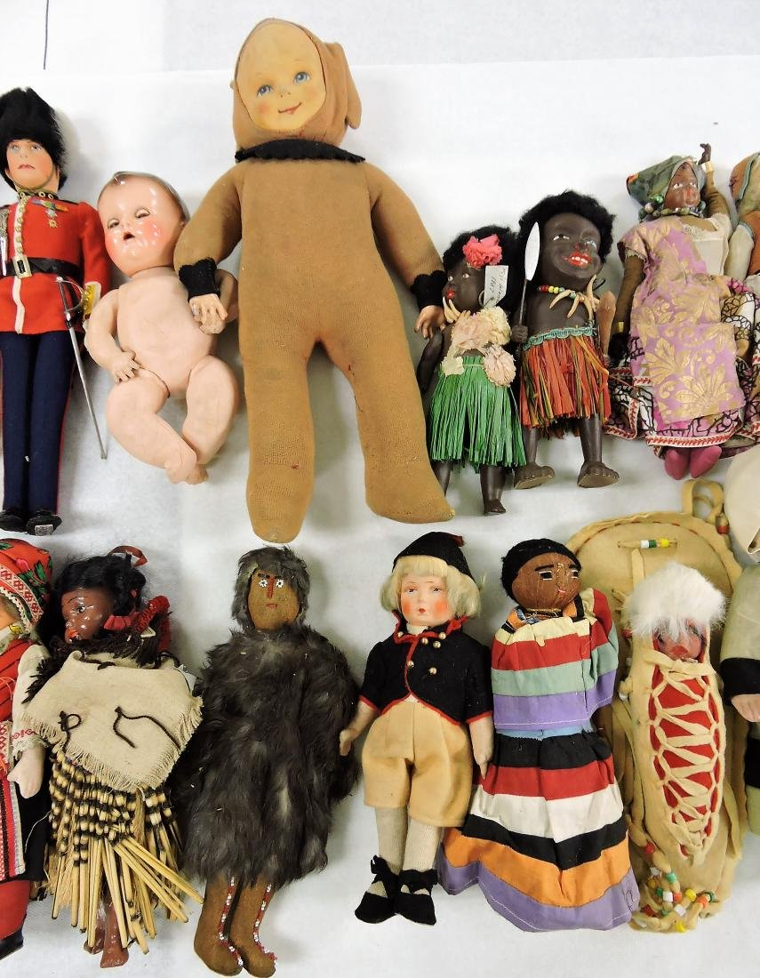 1930's Dolls of the World lot of - 3