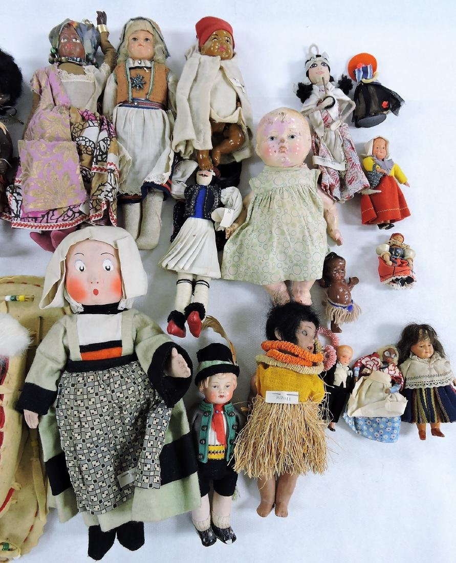 1930's Dolls of the World lot of - 4