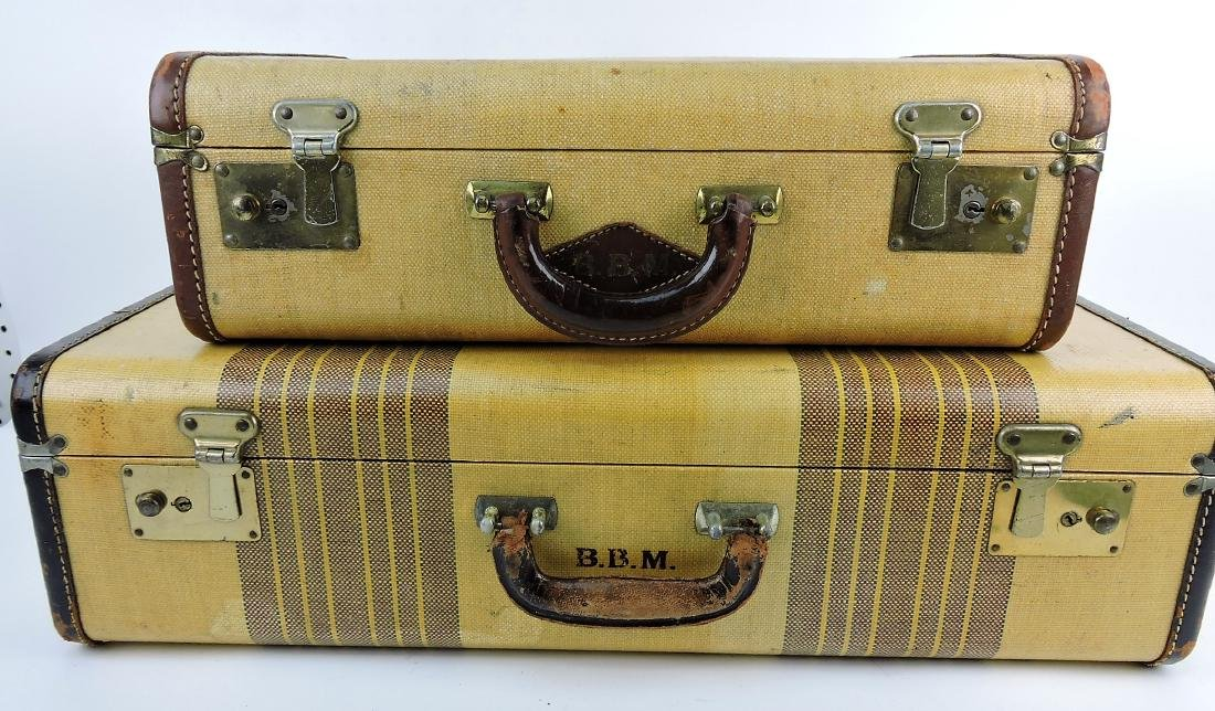 Vintage suitcase lot of 2