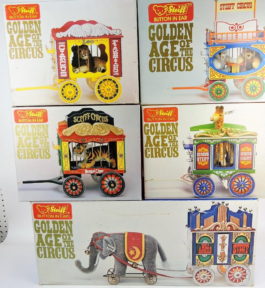 Steiff Golden Age of the Circus