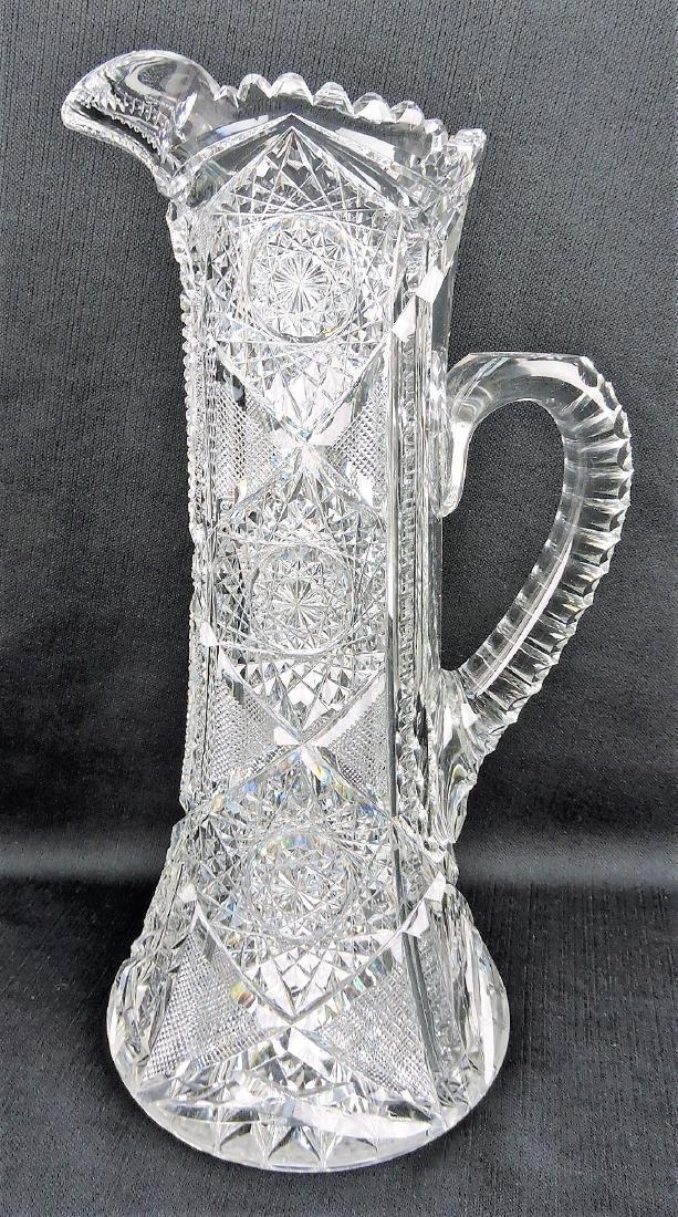 American Brilliant Period cut glass