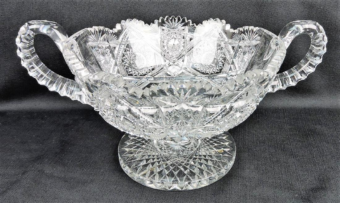 American Brilliant Period cut glass