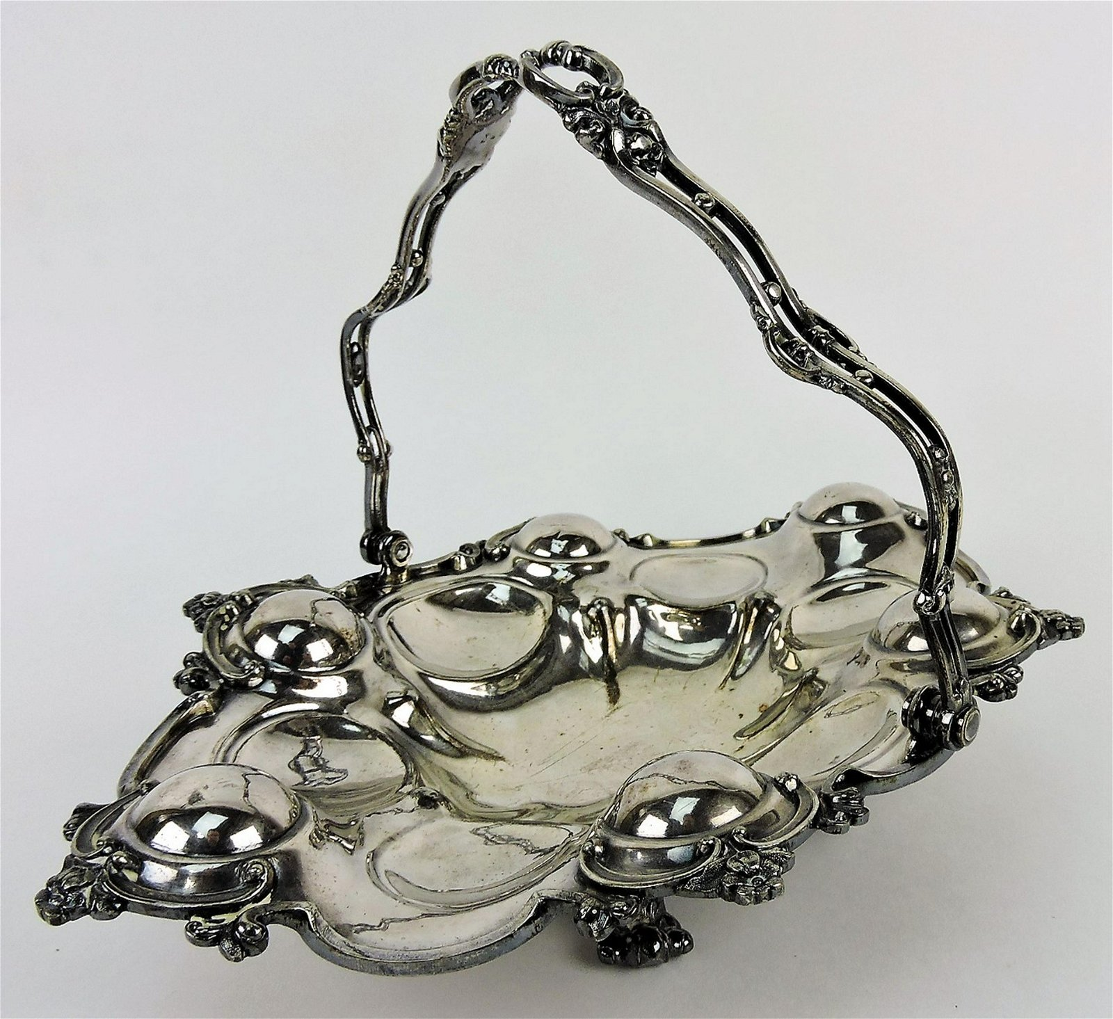Reed & Barton silver plate oyster