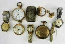 Pocket watch lot of 4 Elgin 4