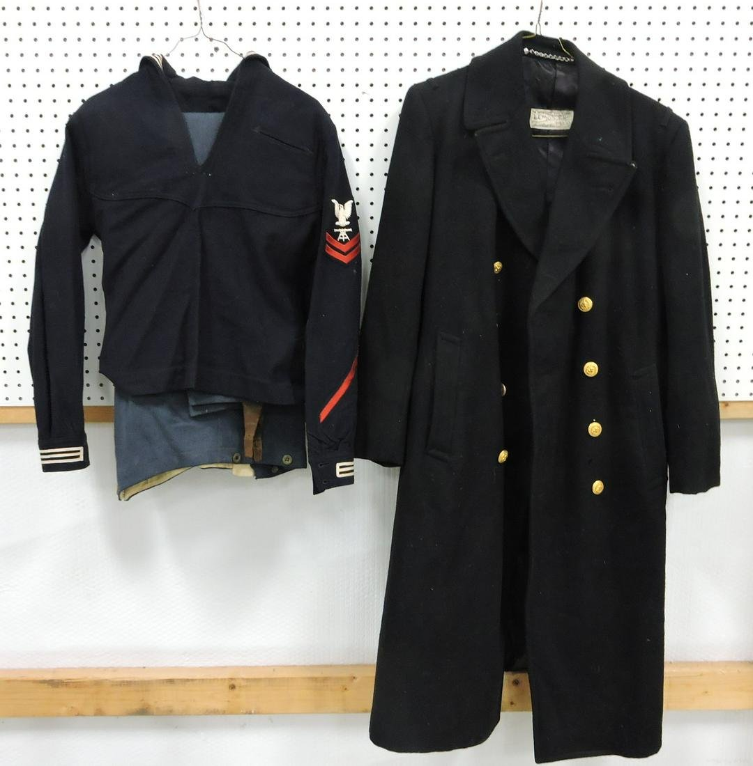 US Naval uniform and topcoat
