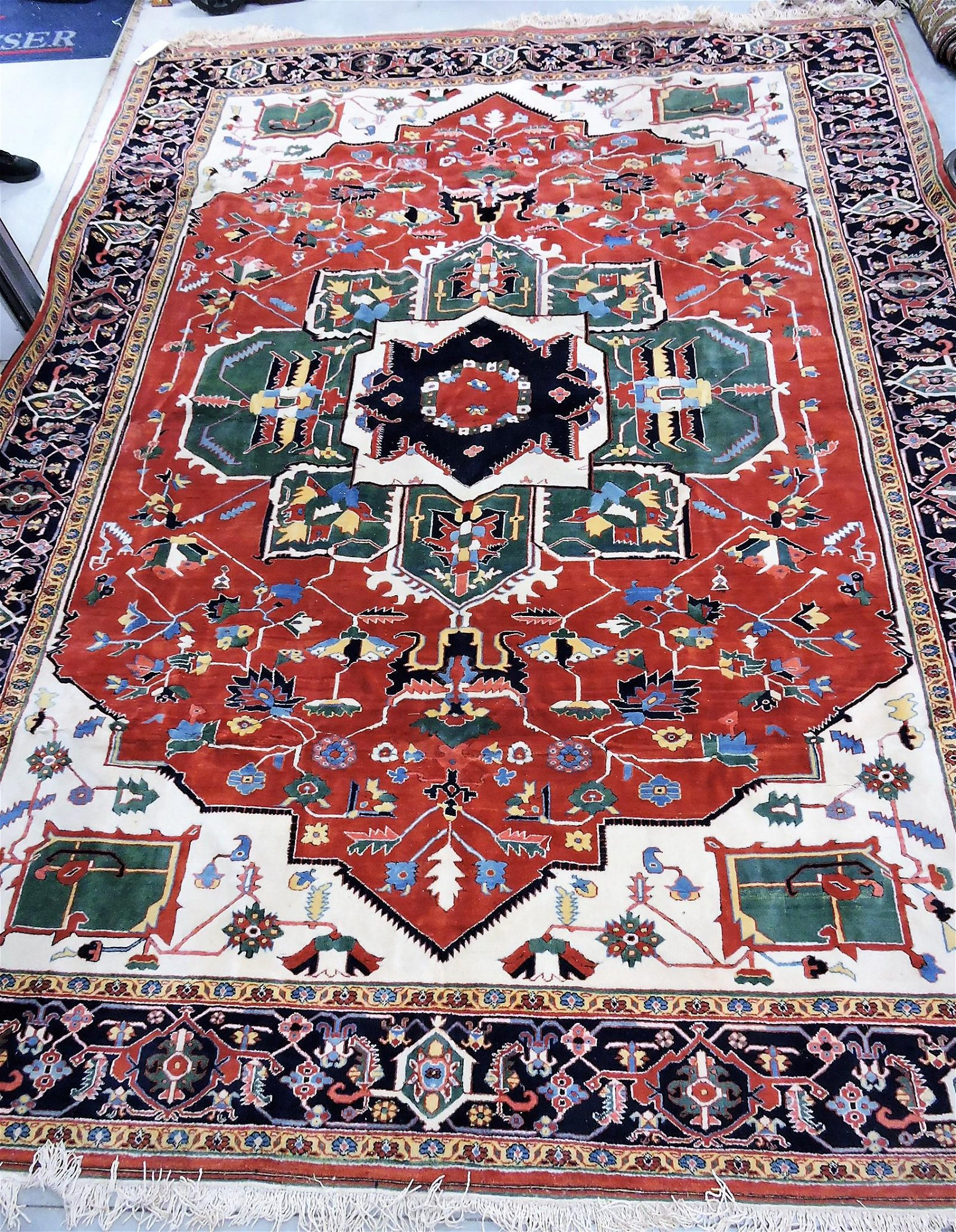 "Oriental rug, 13'9"" x 10'8"", Turkish"