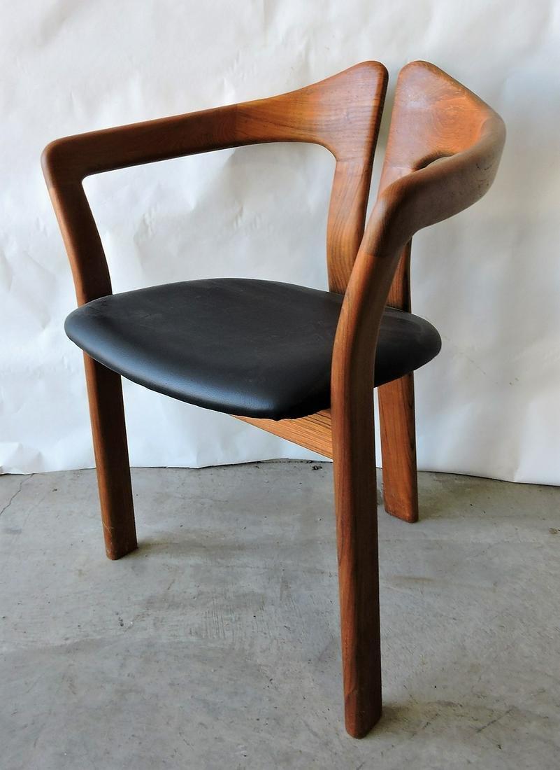 Mid Century Modern teakwood arm