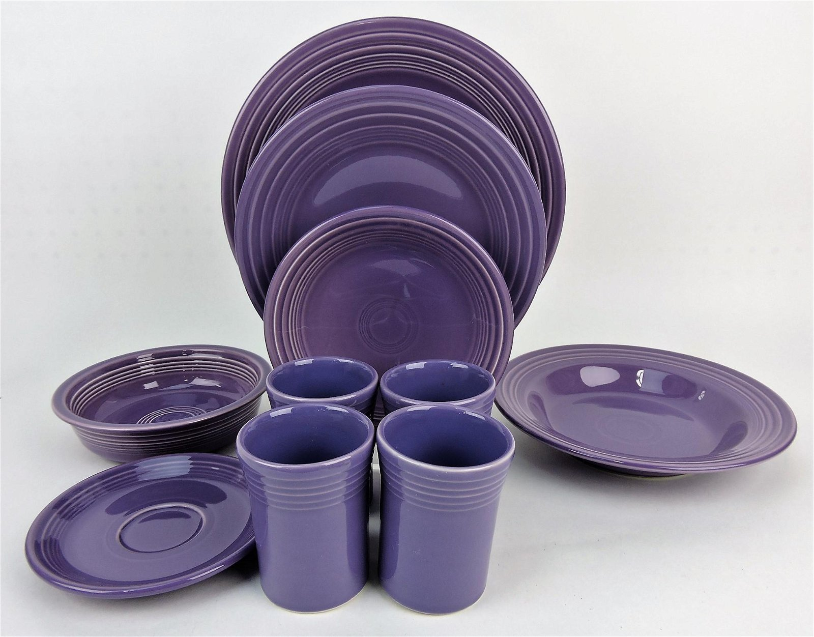 Fiesta Post 86 lilac lot of 10 pieces