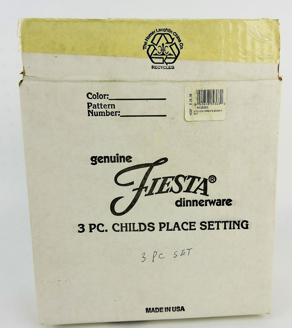 "Fiesta Post 86 ""Three piece child's"