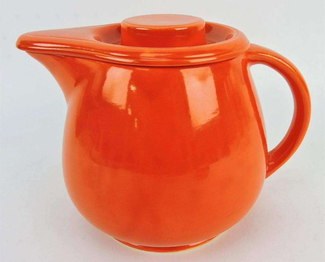 Fiesta Kitchen Kraft red covered jug,