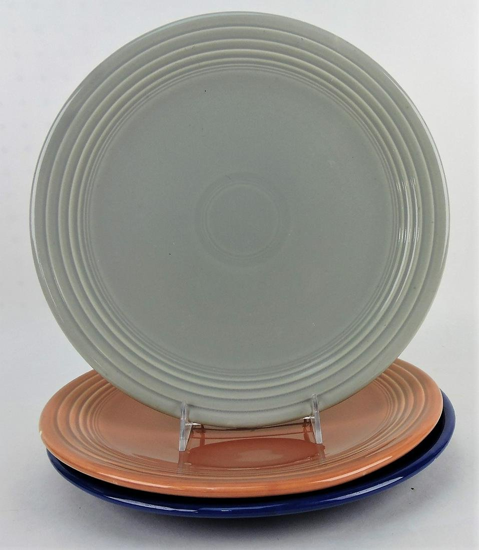"Fiesta 13"" chop plate group; gray,"