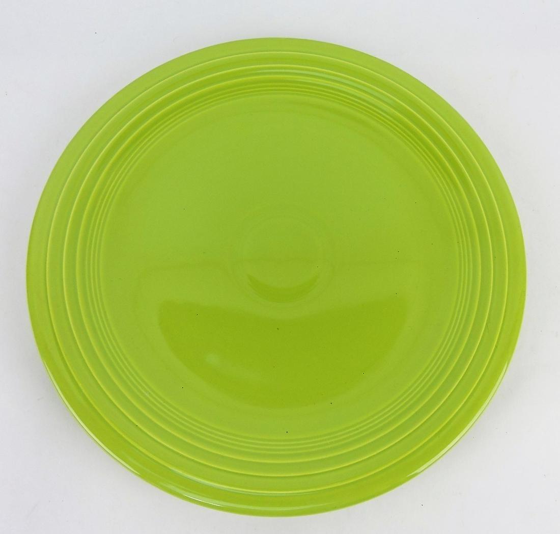 "Fiesta 15"" chop plate, chartreuse"