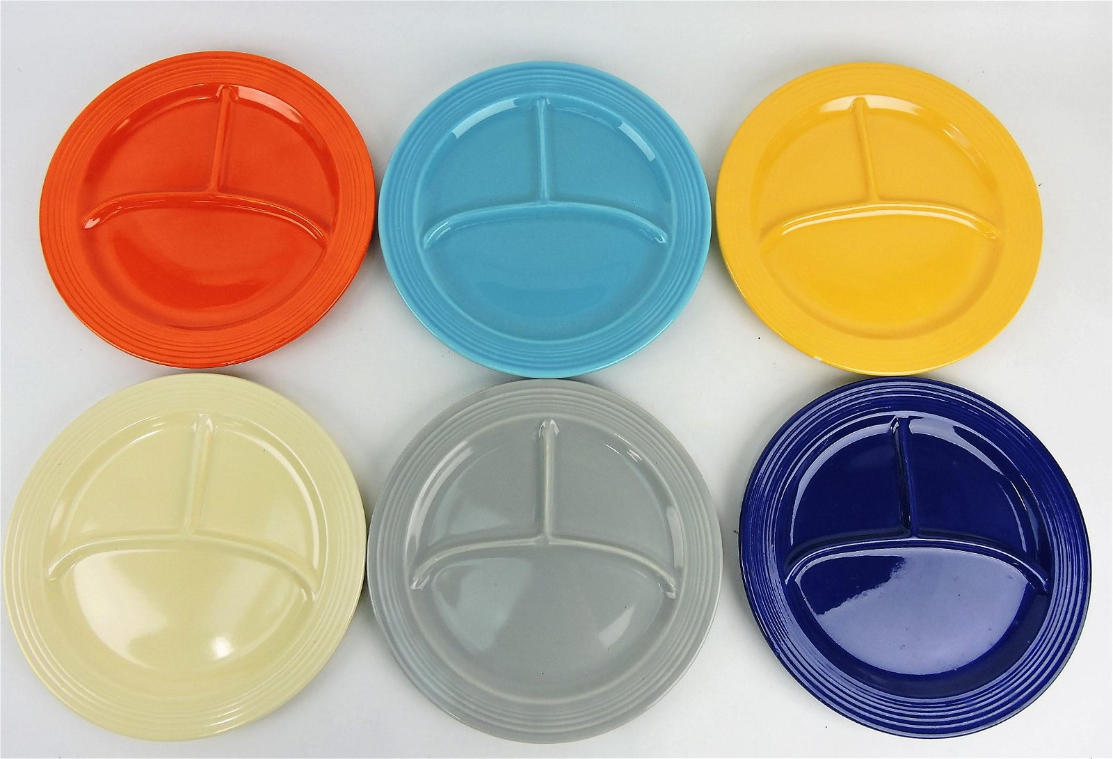 """Fiesta 10 1/2"""" compartment plate group"""