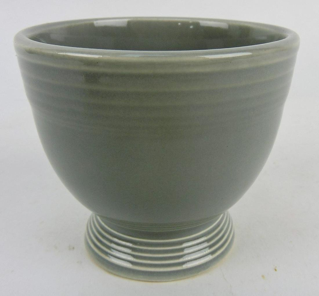 Fiesta egg cup, gray