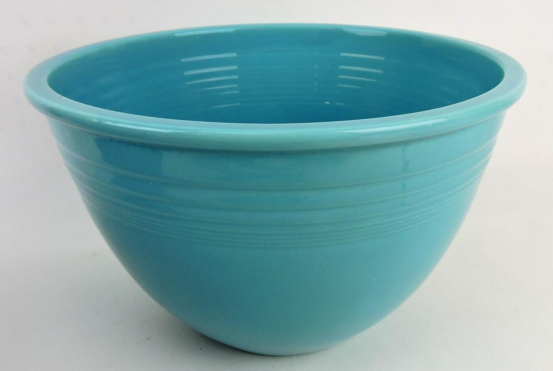 Fiesta #7 mixing bowl, turquoise,