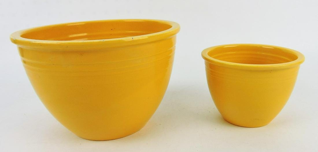 Fiesta mixing bowl group of 2,