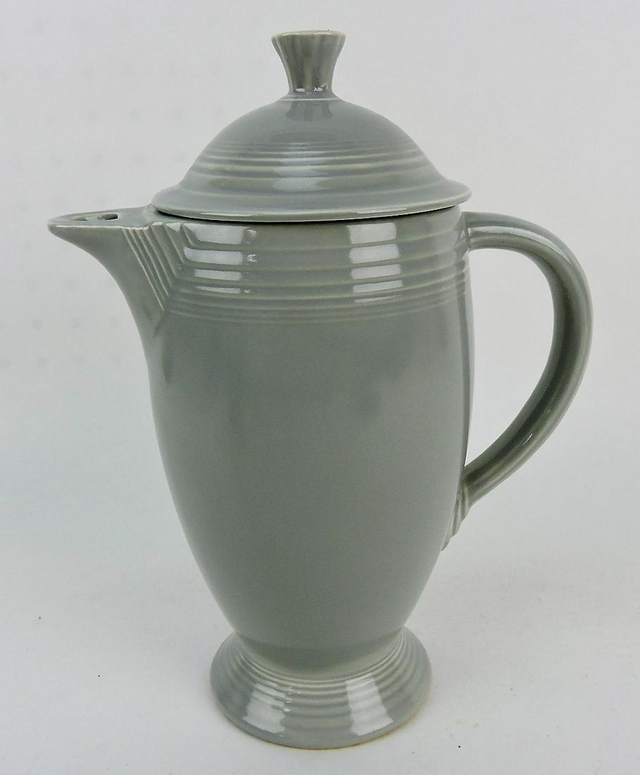 Fiesta coffee pot, gray, minor